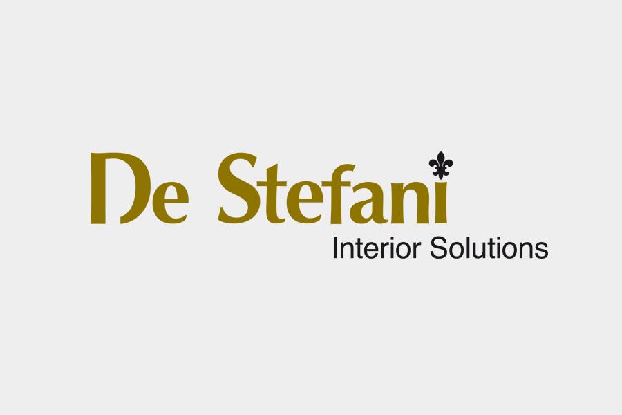 Creazione del marchio aziendale per la divisione contract dell'azienda De Stefani Srl