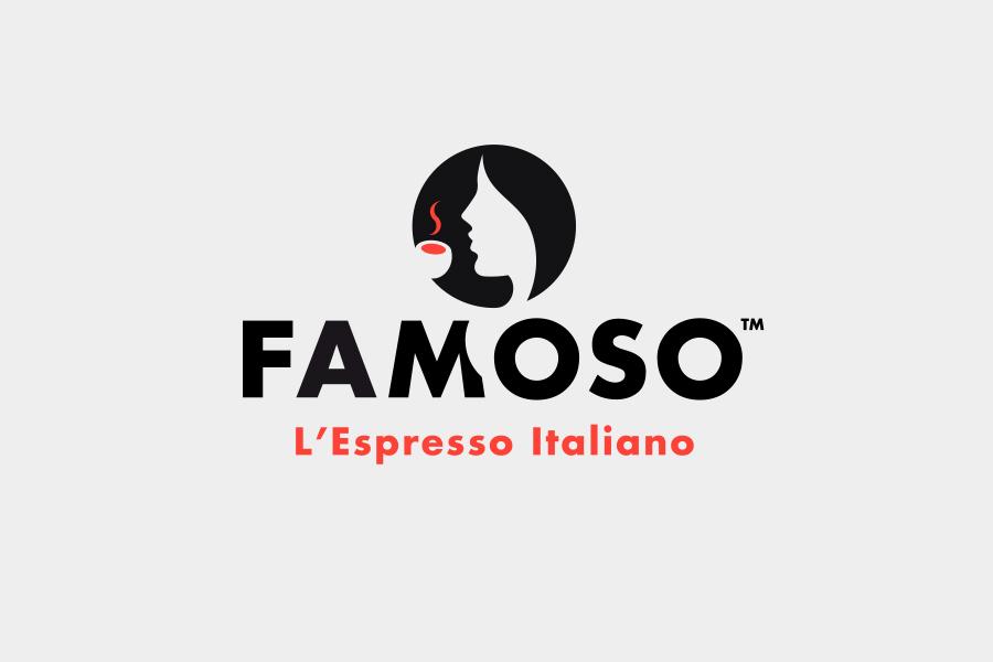 Creazione del marchio internazionale del caffè famoso
