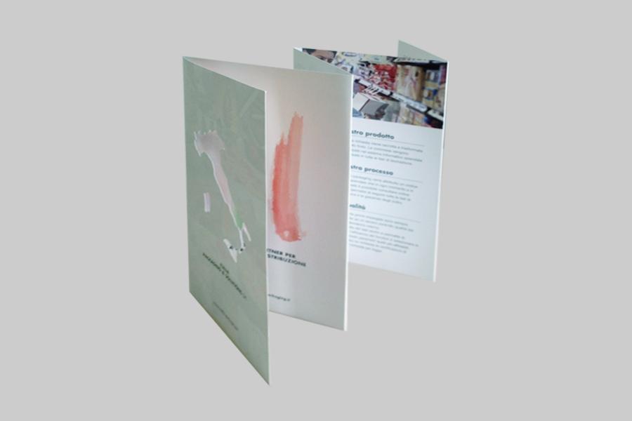 Creazione dell'identità aziendale e della brochure istituzionale