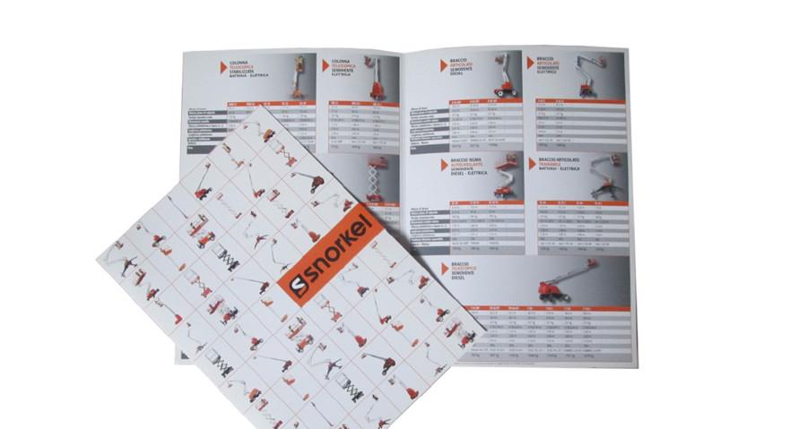 brochure di prodotto Snorkel