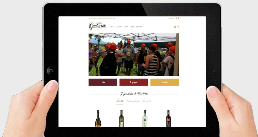 Creazione sito di e-commerce