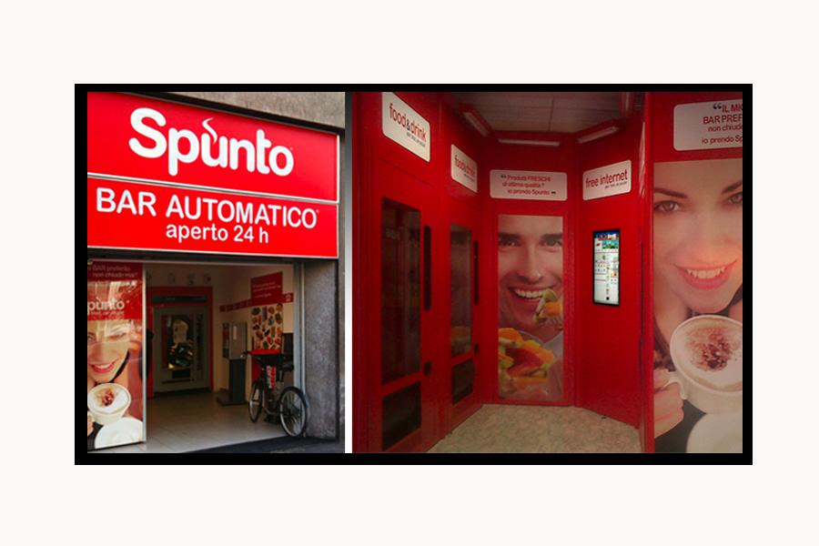 Creazione del concept di comunicazione dei nuovi store aperti 24 ore