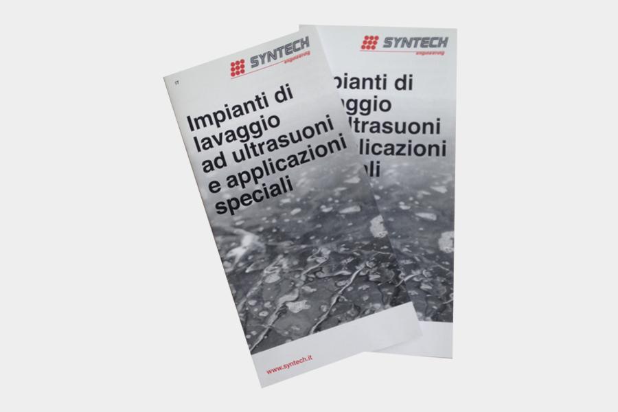 Nuova brochure istituzionale dei prodotti Syntech